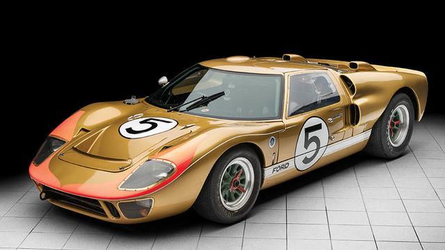 Winnende Ford GT40 uit 24 uur van Le Mans 1966 onder de hamer