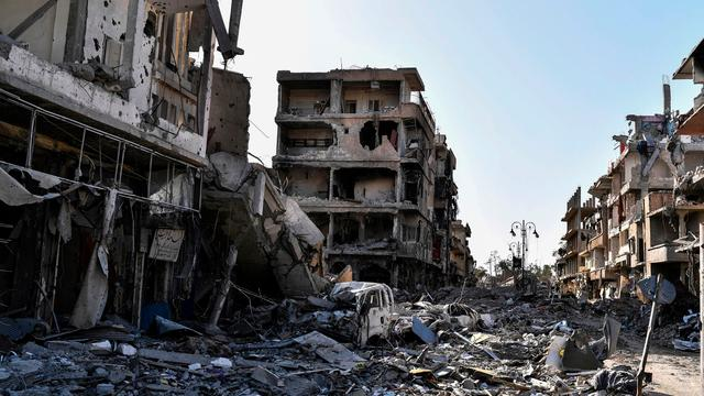 '128 mensen gedood door IS in Syrisch dorp'
