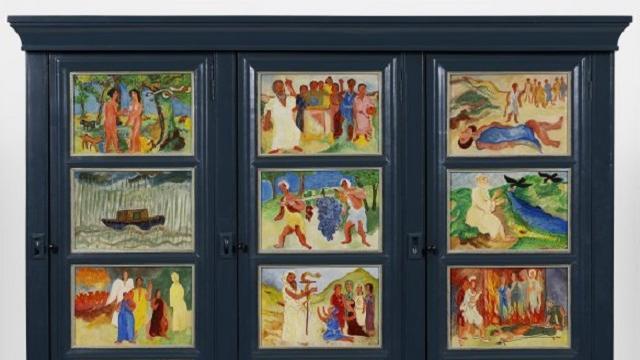 Groninger Museum koopt kast van H.N. Werkman