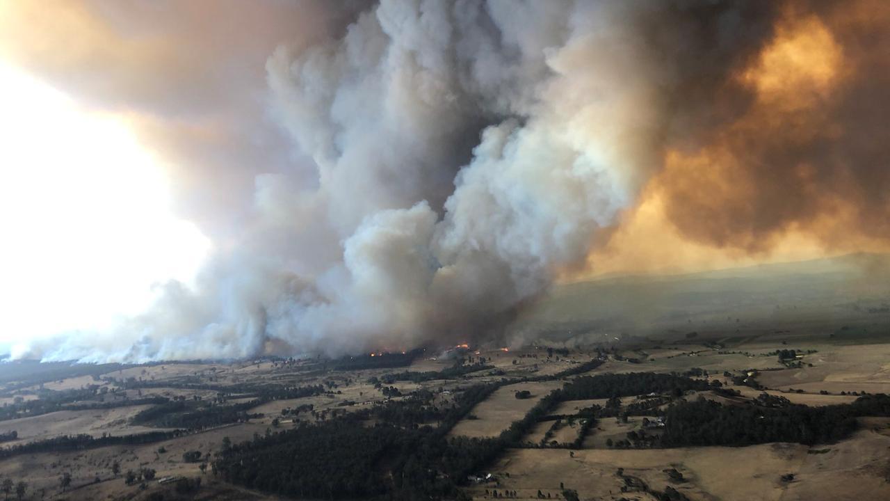 Rook van natuurbranden Australië gaat letterlijk de hele wereld rond
