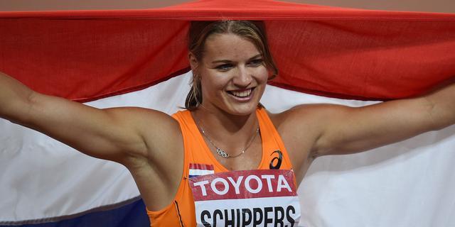 Schippers sprint naar zilver op 100 meter bij WK atletiek