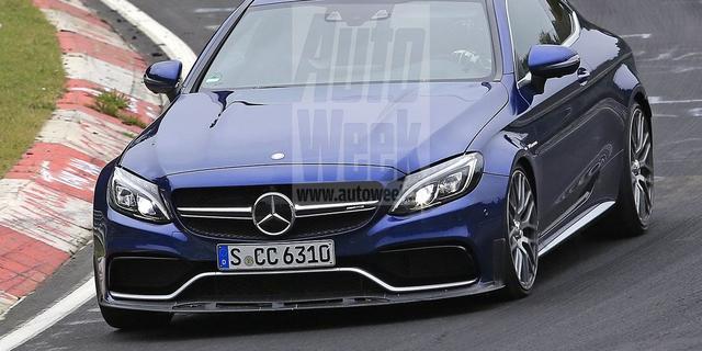 Mercedes-AMG C 63 'R' gespot