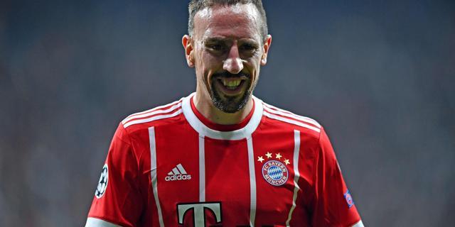 Ribéry verlengt contract en staat voor twaalfde seizoen bij Bayern