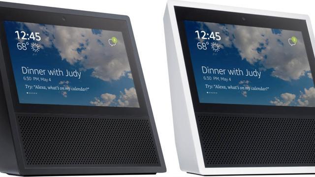 'Gelekte afbeelding toont slimme speaker van Amazon met touchscreen'