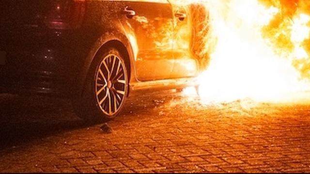 Aantal meldingen autobranden in Amsterdam met 17 procent gestegen