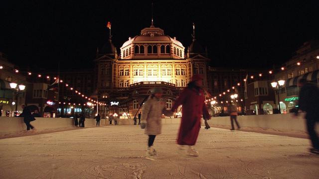 Opening schaatsbaan voor Kurhaus week uitgesteld