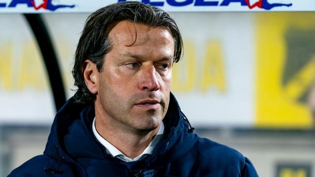 Ernest Faber ergerde zich donderdag in Breda flink aan PSV. (Foto: Pro Shots)