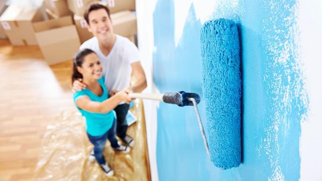 Blauw en groen op de muur: 'Mensen willen gehoord worden'