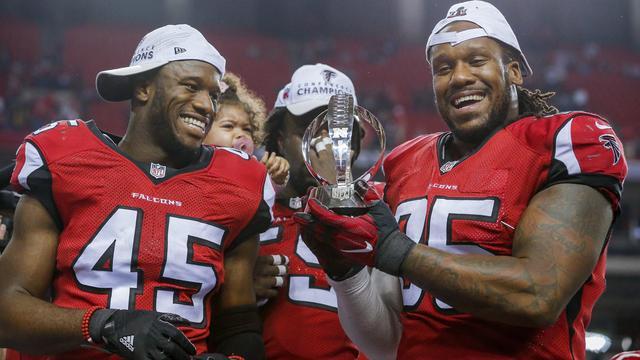 Falcons en Patriots plaatsen zich voor Super Bowl