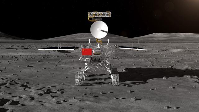 Chinese ruimtelander maakt eerste succesvolle landing op achterkant maan