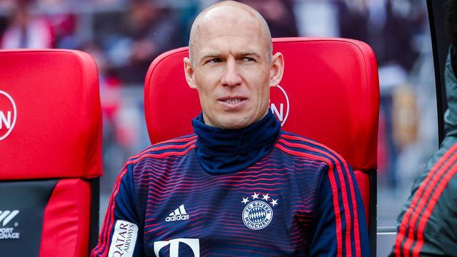 Kovac van plan Robben dit seizoen nog speeltijd te geven bij Bayern