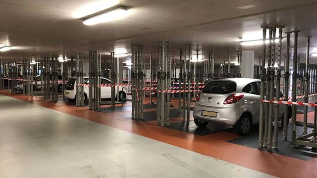 Gaslek in parkeergarage onder Marsmanplein weer dicht