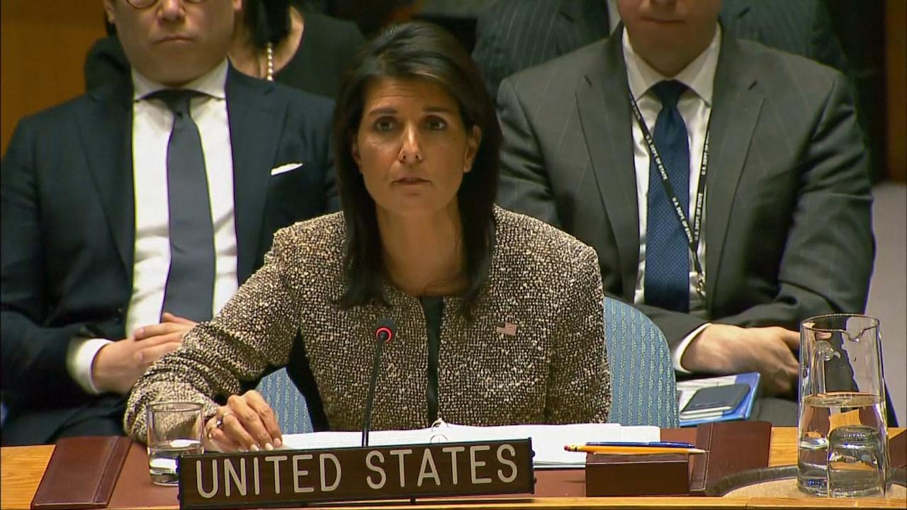 VS dreigt met compleet verwoesten van Noord-Koreaans regime
