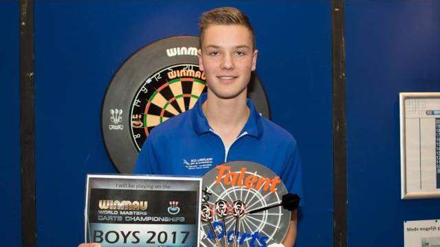 Dartshop Leiden talent dwingt deelname aan prestigieus toernooi af