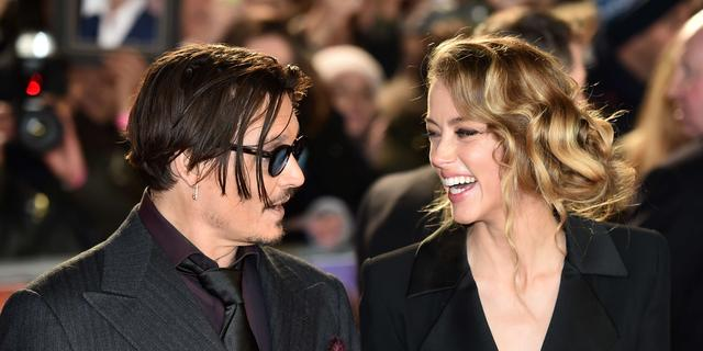 Amber Heard ontkent chanteren Johnny Depp