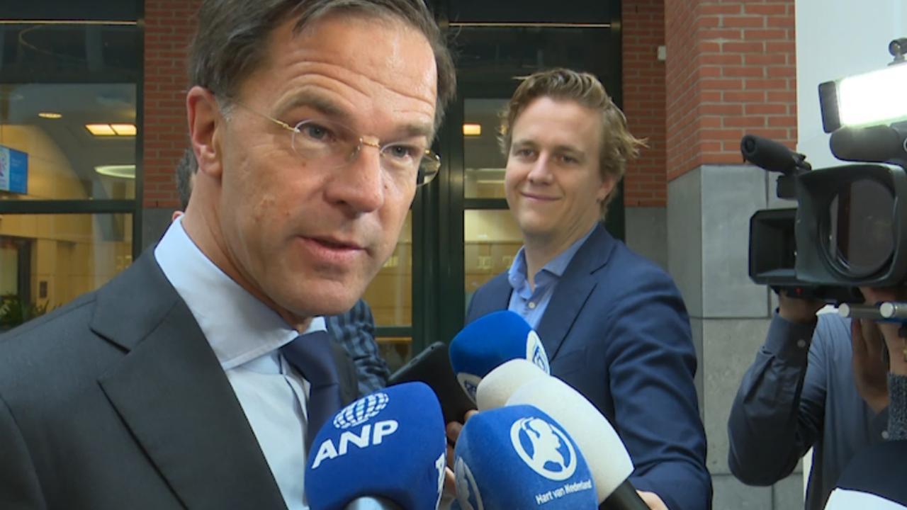 Rutte na aftreden Pechtold: 'Hij heeft een stabiel D66 neergezet'