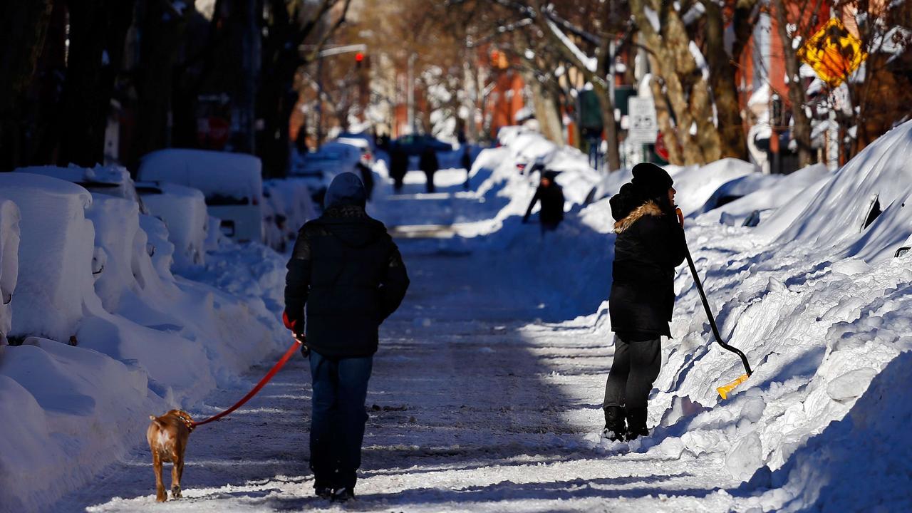 Inwoners New York mogen weer de weg op na sneeuwstorm
