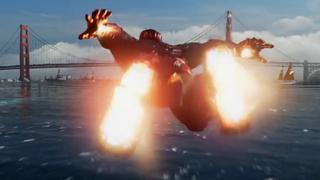 Explosie Golden Gate Bridge verpest feest in trailer Avengers-game