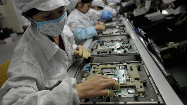Apple-fabrikant Foxconn boekt voor het eerst sinds 1991 lagere omzet