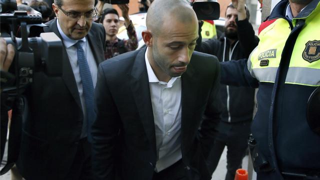 Javier Mascherano bekent belastingontduiking