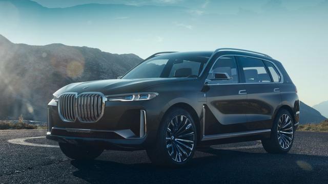 BMW onthult nieuwe Concept X7 iPerformance