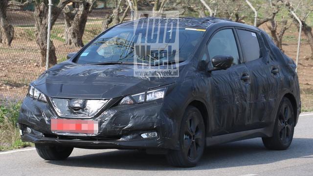 Nieuwe Nissan Leaf in beeld