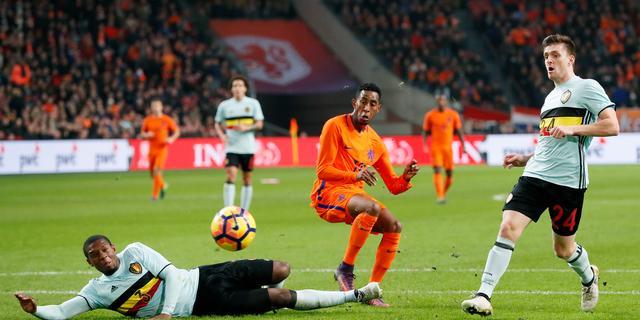 Brenet baalt ervan dat bekroning voor Oranje-debuut uitbleef
