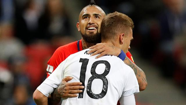 Duitsland en Chili in evenwicht op Confederations Cup