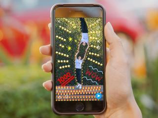 Face Lenses alleen beschikbaar voor adverteerders in Studio Lens van Snapchat