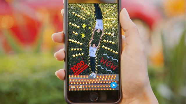 Snapchat laat gebruikers zelf filters maken