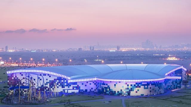 Dubai opent grootste overdekte pretpark ter wereld