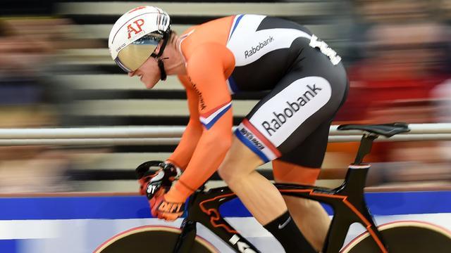 EK-zilver baanwielrenner Hoogland op sprint, Van Vleuten vierde bij debuut