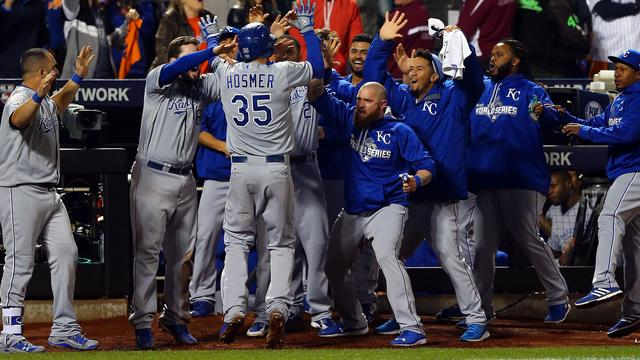 Honkballers Kansas City Royals zegevieren in World Series