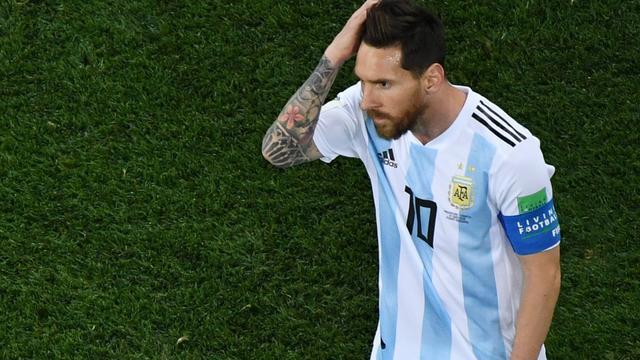 Reacties na pijnlijke nederlaag Argentinië en Messi