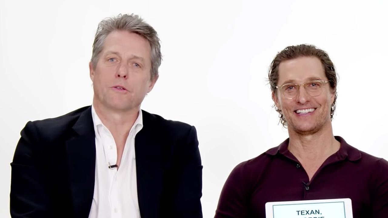 McConaughey en Grant bespreken Texaanse en Britse uitdrukkingen
