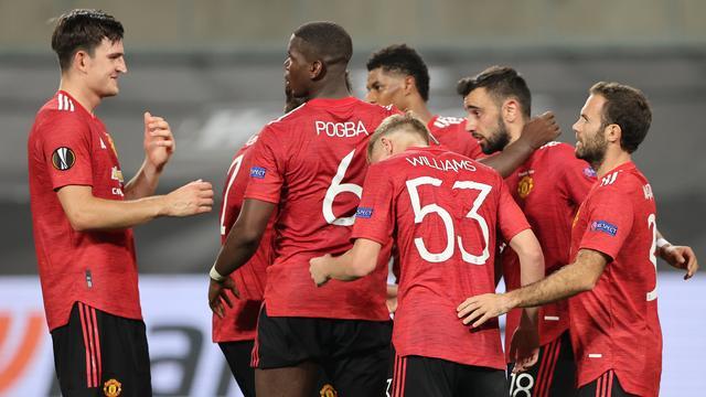 Manchester United pas na verlenging langs FC Kopenhagen in Europa League