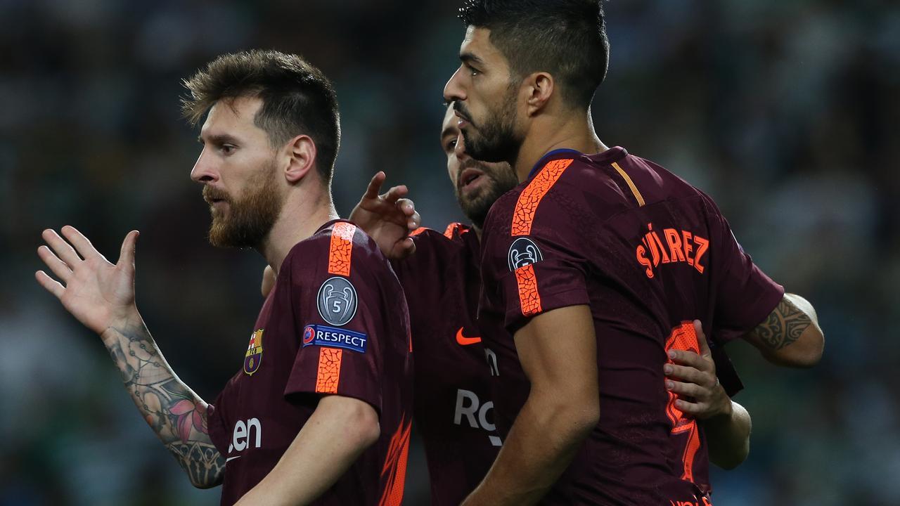Samenvatting Sporting Lissabon-Barcelona (0-1)
