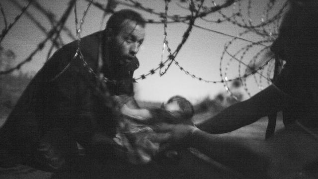 World Press Photo voor foto van vluchtelingenbaby
