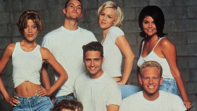 Televisiespecial Beverly Hills 90210 met originele cast op Fox te zien