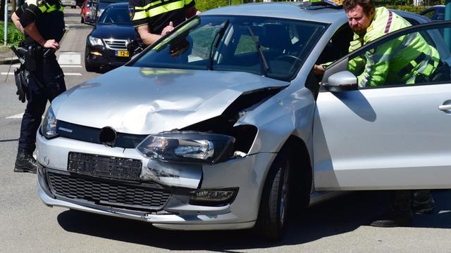 Meerdere auto's betrokken bij ongeval op Oostkanaalweg
