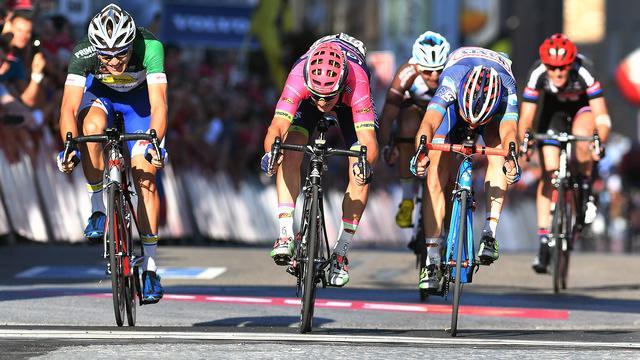 Vluchter Pibernik troeft sprintersploegen af in zesde rit Eneco Tour