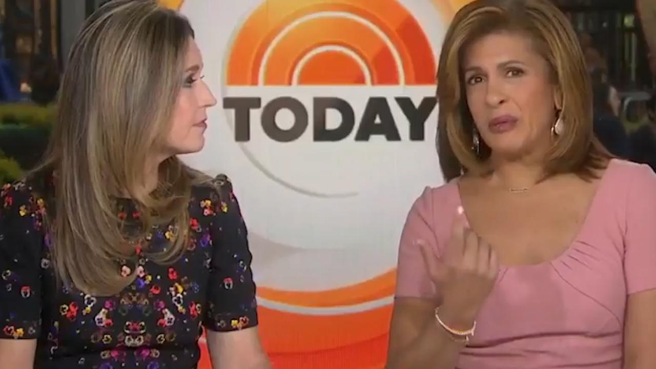 Presentatrices vertellen over ontslag Lauer tijdens uitzending