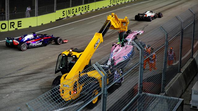 Force India legt weer strenge teamorders op na incident in Singapore