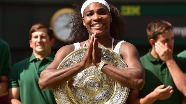 Williams verslaat Muguruza en pakt zesde titel op Wimbledon