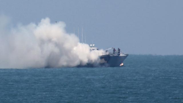 Raketaanval extremisten op Egyptisch marineschip