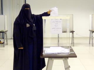 Primeur in land waar vrouwen nauwelijks politieke macht hebben
