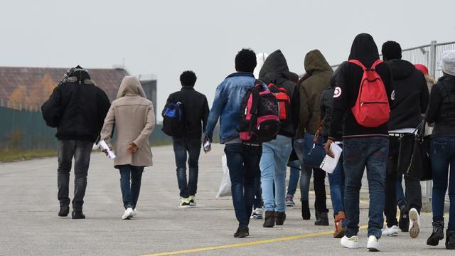 Afgewezen asielzoekers kraken pand in Amsterdam