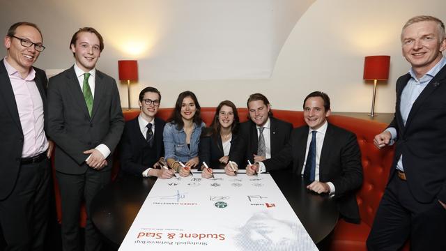 Vijf grootste studentenverenigingen houden Open Sociëteitendag