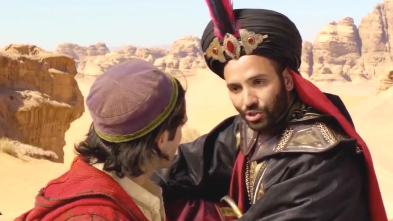 Aladdin-acteur zag Nederlander Marwan Kenzari als 'grote broer'