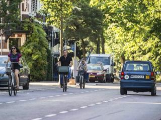 Zowel auto's als fietsers moeten omrijden